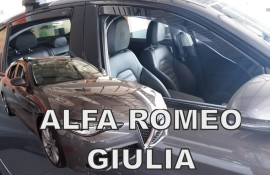 Heko  Deflektory na Alfa Romeo Giulia, +zadné, r.v.: 2016 -