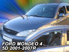 Heko  Deflektory na Ford Mondeo, 4/5-dverová, r.v.: 2001 - 2007