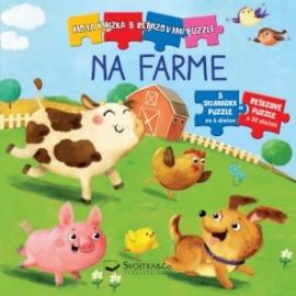 Moja knižka s reťazovými puzzle Na farme