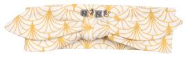 Nini dievčenská čelenka z organickej bavlny žltá