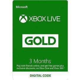 Microsoft Xbox Live Gold 3-mesačné členstvo