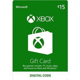 Microsoft Xbox Live Darčeková karta v hodnote 15 Eur