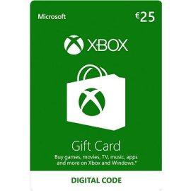 Microsoft Xbox Live Darčeková karta v hodnote 25 Eur
