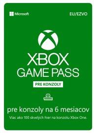 Microsoft Xbox Game Pass 6 mesačné predplatné