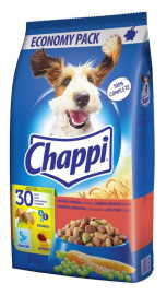 Chappi granule s hovädzím, hydinovým a zeleninou 9kg