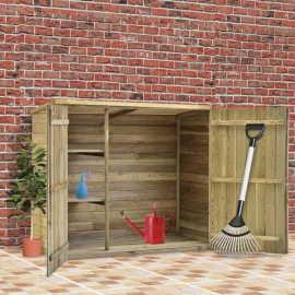 Shumee Záhradná kôlňa na náradie 135x60x123cm