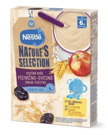 Nestlé Mliečna kaša pšenično-ovsená jablko-slivka 250g