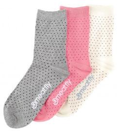 Meatfly 3 PACK Rainy Dots socks
