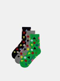 Meatfly 3 PACK Multi Shape socks