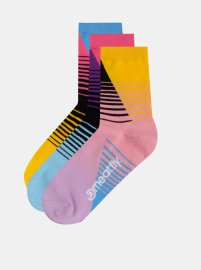 Meatfly 3 PACK Color Scale socks