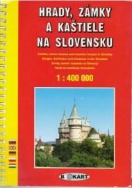Hrady, zámky a kaštiele na Slovensku 1:400 000